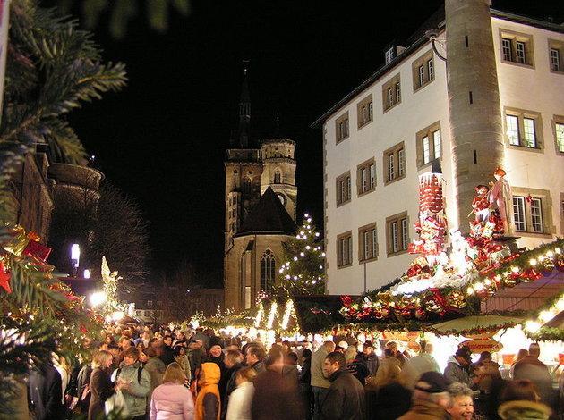 Turin Christmas Market in Italy