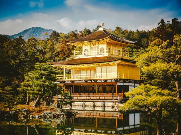 Kinkaku-ji - best temples in Kyoto