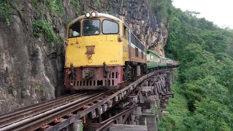 journey on Thai-Burma Railway