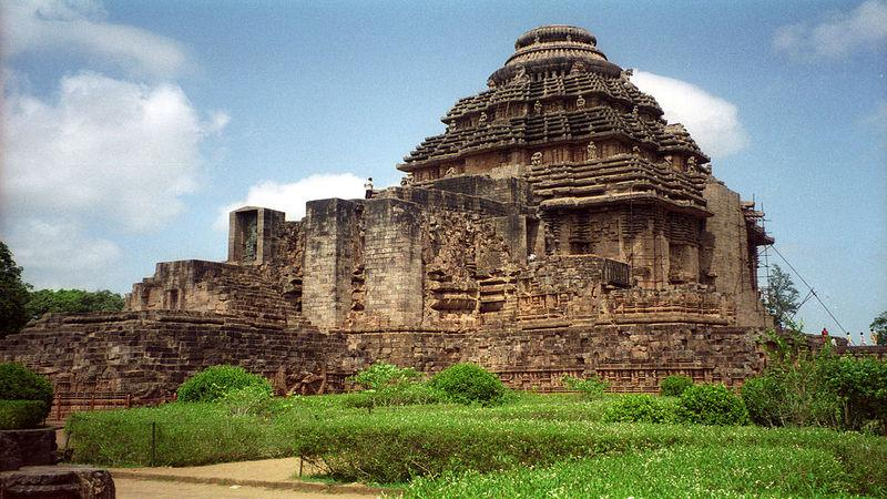 Konark Odisha - best place to visit in India in December