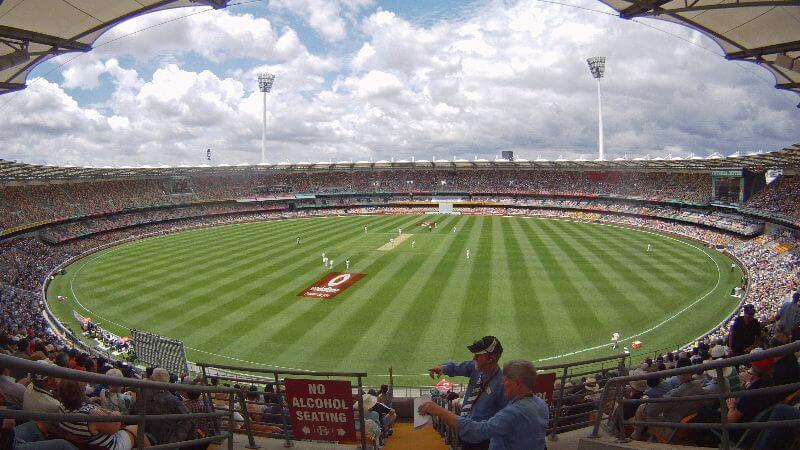 The Gabba - 1st ashes series match