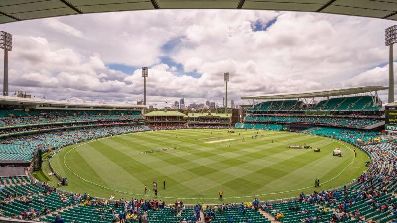 5th and final test at Sydney Cricket Grounds