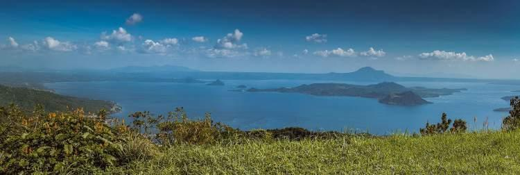 Panoramic view of Taal Lake & Volcano, Tagaytay