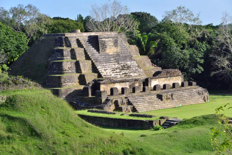 Ancient Mayans - an archaeological site in Belize City