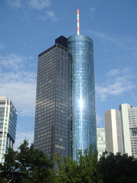 The Main Tower - one of the top attraction in Frankfurt
