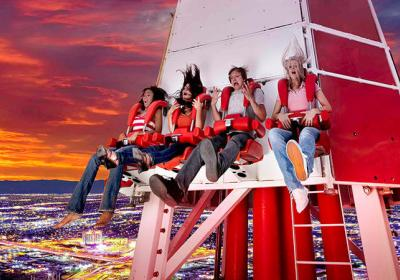Insanely Amazing Roller Coaster Rides In Las Vegas