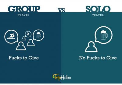 10+ Differences Between Group Travel And Solo Travel