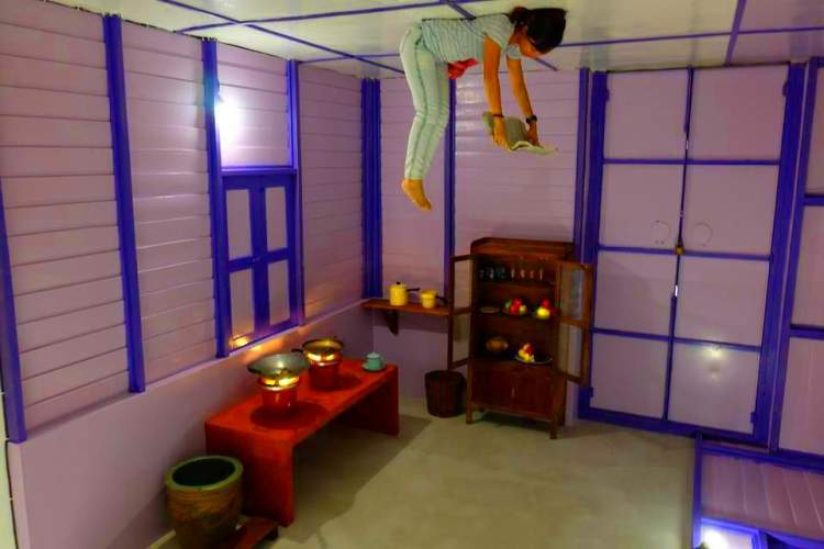interesting place in ipoh - Funtasy House Trick Art in Ipoh - Photo