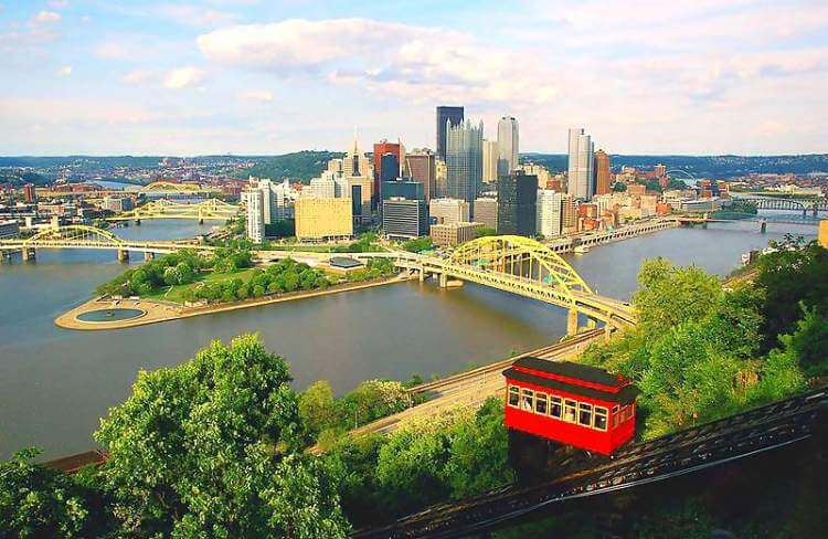 Pittsburgh places to visit - Skyline Image