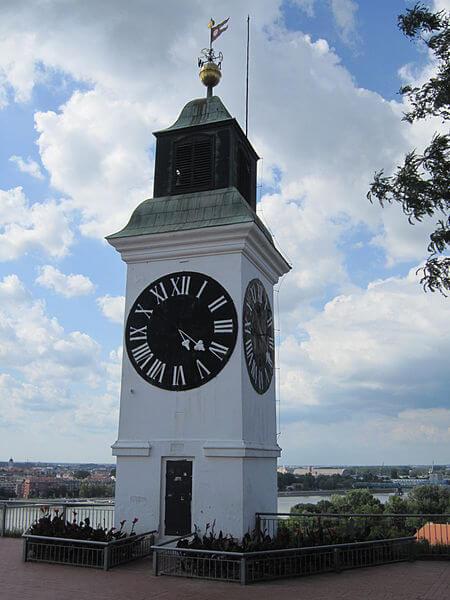 Petrovaradin Clock Tower - Image