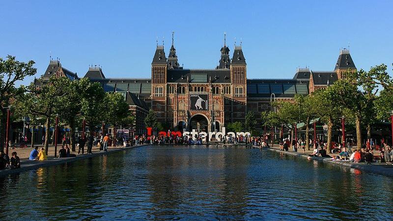 Rijksmuseum in Amsterdam - Image