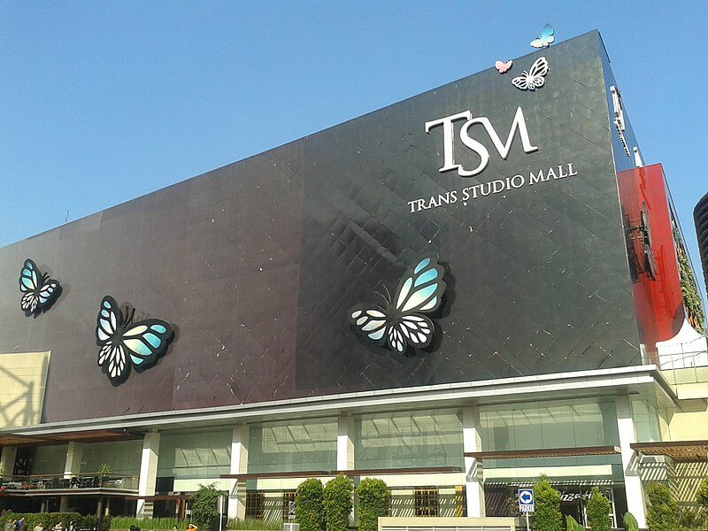 A popular place for shopping in Bandung - Trans Studio Mall in Bandung