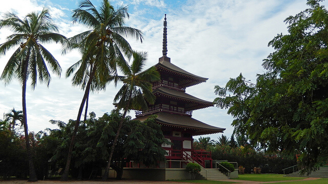 The religious and spiritual side of lahaina jodo mission - image