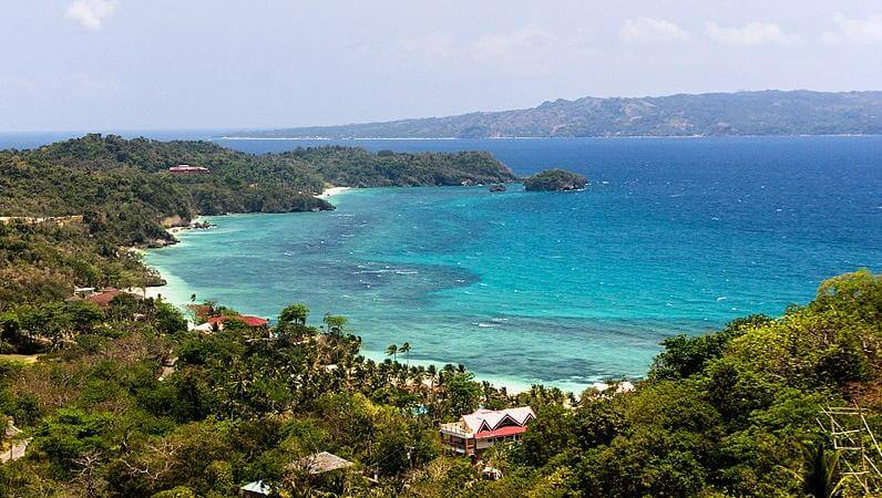 The Boracay island, Philippines