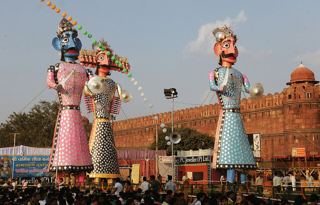 places to celebrate Navratri