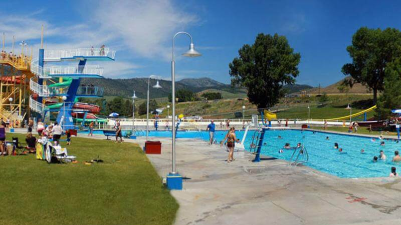 Lava Hot Springs Olympic Swimming Complex