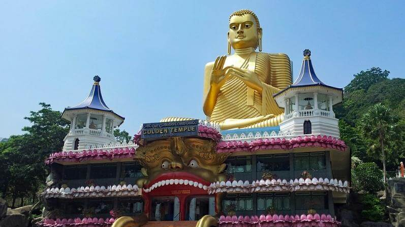 Buddhist temples in Sri Lanka