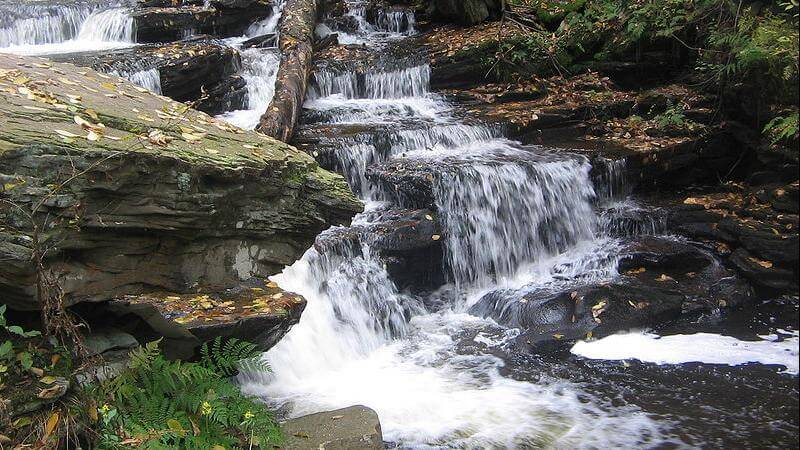 Moss Glen Falls Trail