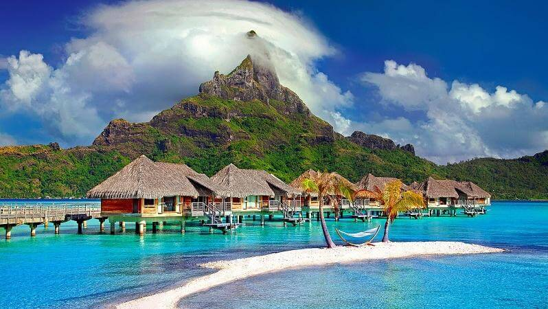 romantic island in world