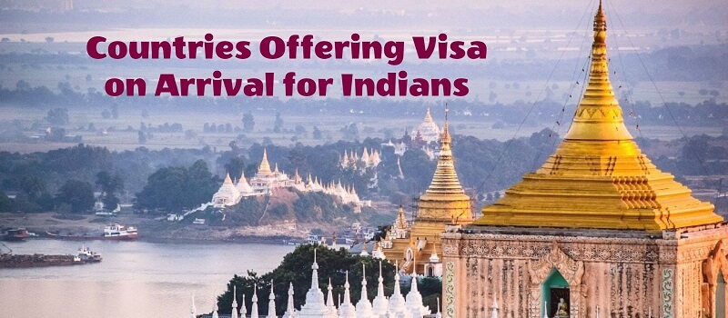 Countries Offering Visa on Arrival for indians