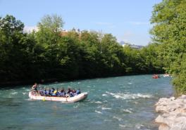 Aare Float Trip River Rafting