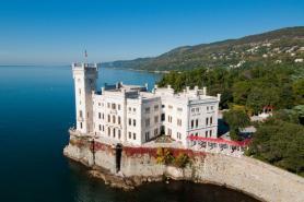 Trieste  Miramare Castle And San Giusto