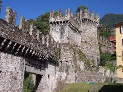 UNESCO Heritage In Bellinzona And Biking To Lake Maggiore