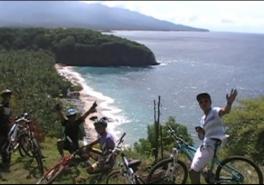 East Bali Bike Tour Putung To Virgin Beach
