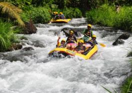 Bali White Water Rafting With Lunch