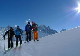 Ski Touring Initiation In Chamonix