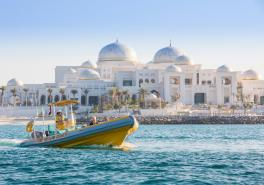 Emirates Palace, Royal Palaces And Grand Mosque Tour