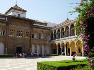 The Alcazar Of Sevilla