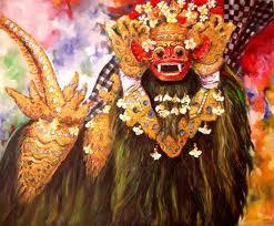 Barong Or Lion Dance