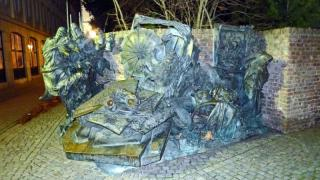 The City Monument At Burgplatz