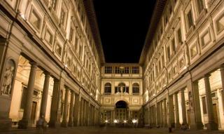 The Galleria Degli Uffizi