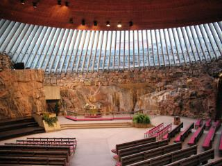 Temppeliaukio Church Or Rock Church