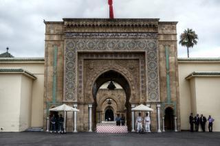 Royal Palace Or Palais Royal De Casablanca