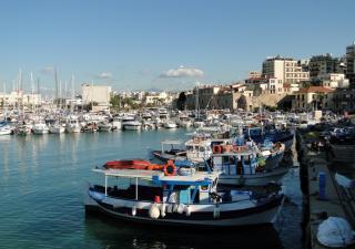 The Port Of Heraklion