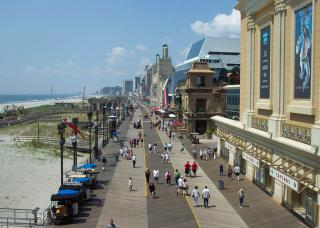 The Atlantic City Boardwalk