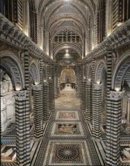 Crypt Of Siena Cathedral Or II Duomo