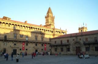 Plaza Del Obradoiro Or Plaza De Espana