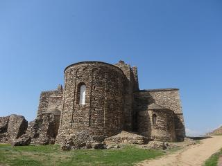 ruins of benedictine monastery of kaposszentjakab village