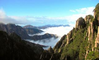 Mt Huangshan Or Yellow Mountain Scenic Area