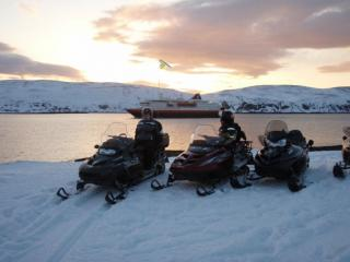overnight snowmobile tour