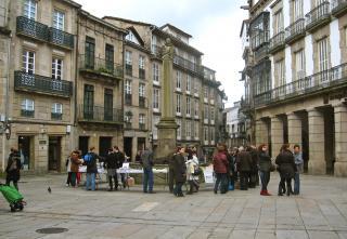 Plaza Cervantes- Santiago