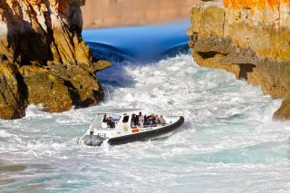 Horizontal Falls With Seaplane Adventures