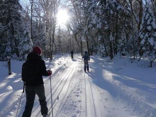 ski de fond mont-tremblant