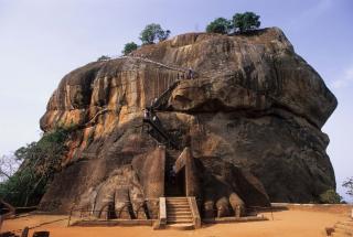 Citadel Of  Sigiriya - Lion Rock