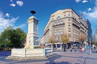 Terazije Square And Fountain