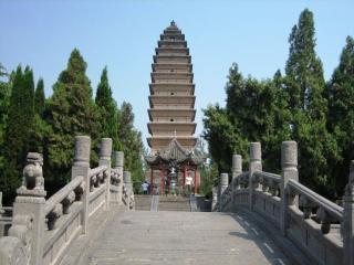 white horse pagoda